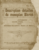ARCHIVES : AVIA n°1  book  1911  about BLERIOT XI AND ENGINES